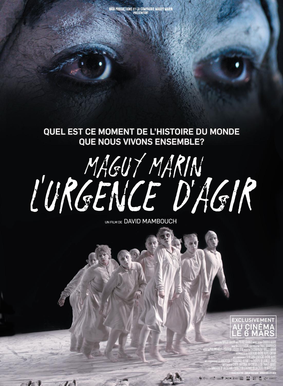 MAGUY MARIN L'URGENCE D'AGIR affiche - Naïa Productions